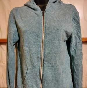 3/$20 ☮ Green Zip Hoodie Threads 4 Thought
